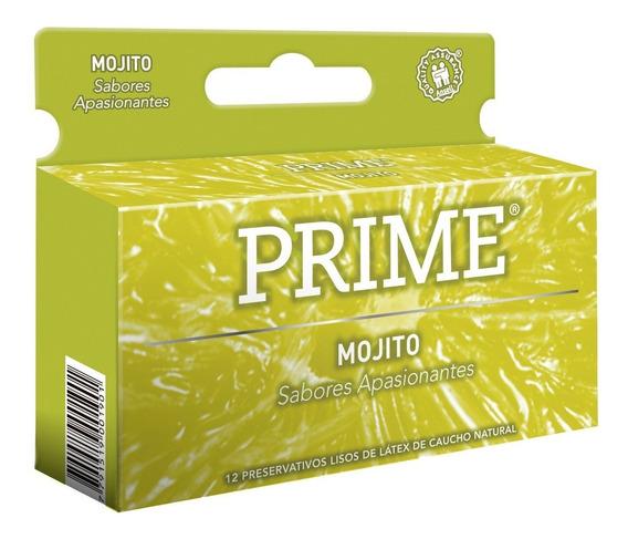 Preservativos Prime Saborizado Caja X12 Daiquiri Mojito
