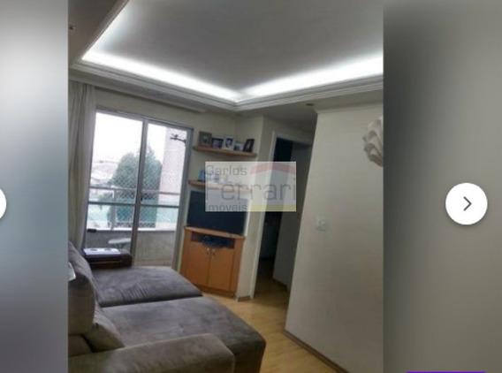 Apartamento De 2 Dormitórios, Com Sacada. Com Lazer !!! - Cf24877