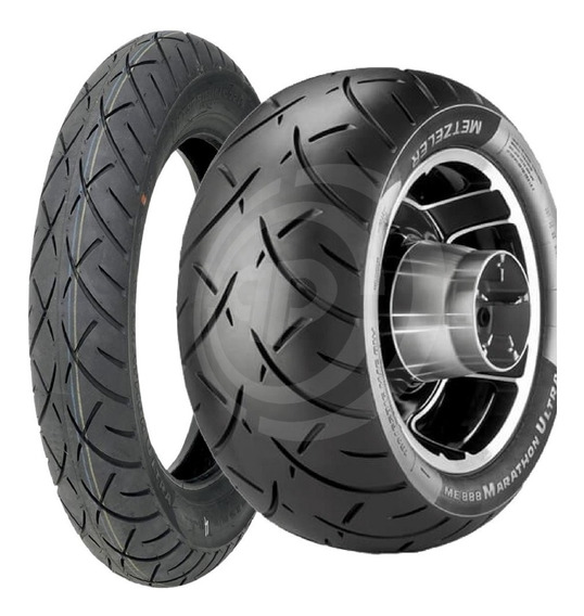 Par Pneu Midnight Star 950 Mais Largo 130/70 200/60 Metzeler