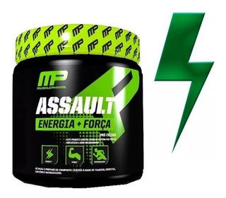Pré Treino Assault 300g Musclepharm | 60 Doses Nova Fórmula