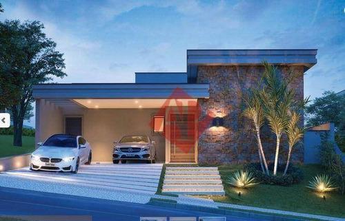 Casa Com 3 Dormitórios À Venda, 221 M² Por R$ 2.100.000 - Ithayê - Alphaville! - Ca1465
