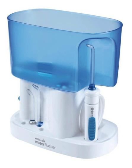 Irrigador Oral Waterpik Wp70b 220v Branco E Azul Com 6 Ajus