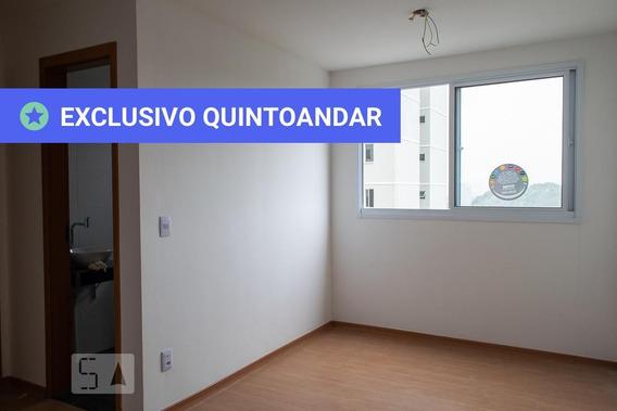 Apartamento No 10º Andar Com 2 Dormitórios E 1 Garagem - Id: 892972048 - 272048