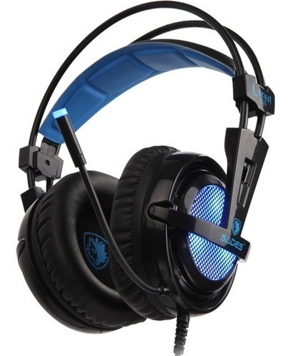 Fone Headset Gamer 7.1 Sades Locust Plus