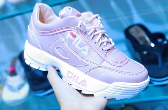 Zapatos Fila Rosa