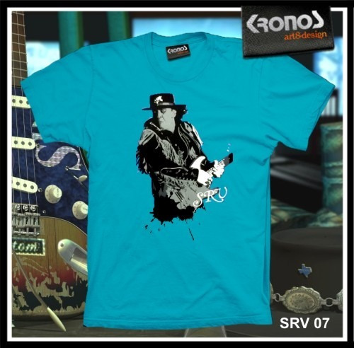 Remeras Stevie Ray Vaughan Rock Blues Guitarra Fender M.007
