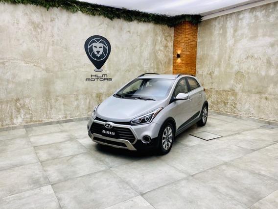 Hyundai/hb20x 1.6 Premium 2017/2018 Prata Aut. Blindado 27mk