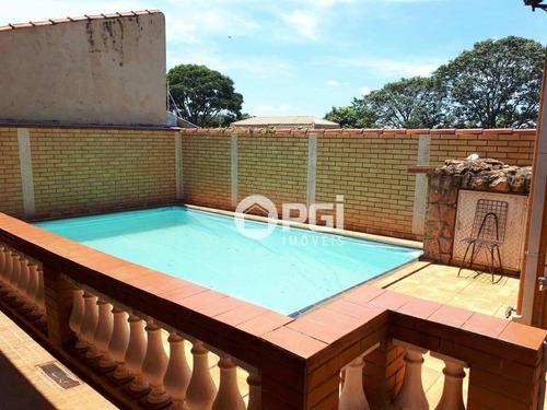 Casa Residencial Para Venda E Locação, Jardim Recreio, Ribeirão Preto. - Ca2564