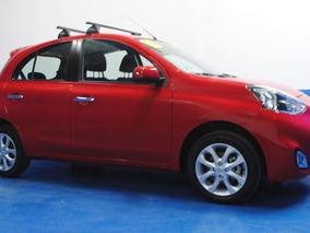 Nissan March Advance 2016 Rojo $ 149,900