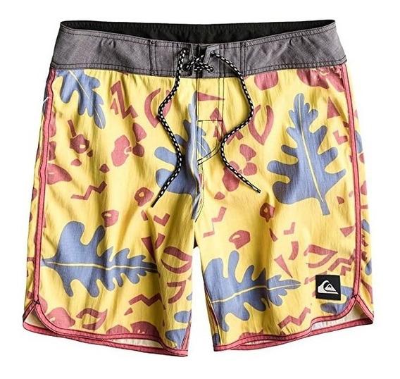 Shorts Quiksilver Bermuda Traje Baño Boardshort Urban Beach