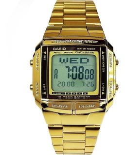 En Mercado Retro Plateado Reloj Casio Dorado Relojes Libre 0wOPN8nkXZ