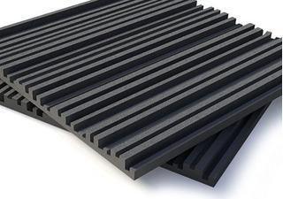 Placa Panel Acústico Espuma Diseño 500 X 500 X 30 Mm Disdec