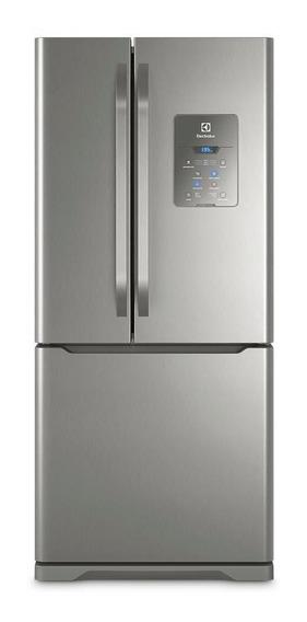 Geladeira Electrolux Multi Door Frost Free 579l Dm84x Inox 220v