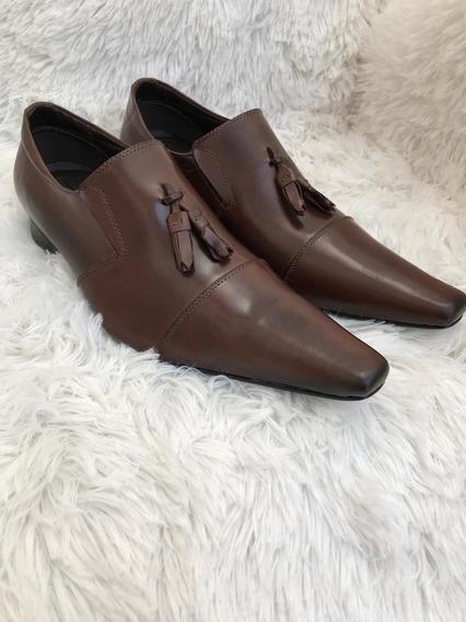 Sapato Para Pastores Bico Fino (produzido Em Couro Legítimo)