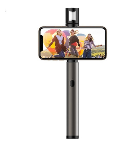 Selfie Stick Bluetooth Magic Flaute + Flash Led Da Rock