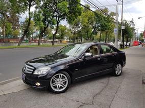 Mercedes Benz 2009 C350 Elegance Aut Piel Q/c Ee Ba R-17 Amg