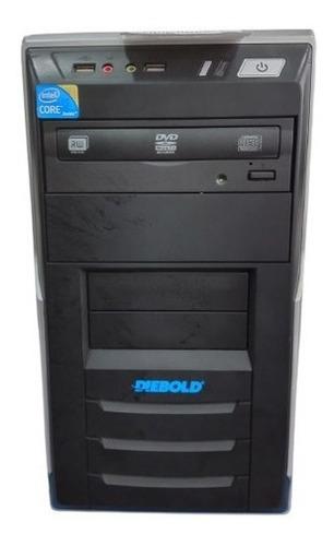 Imagem 1 de 5 de Desktop Diebold I5 8gb Ram/hd 500gb Windows 7 Pro