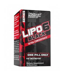 Lipo 6 Black Ultra Concentrado 30cp Formula Americana Nutrex