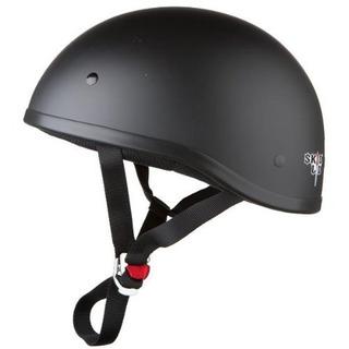 Skid Lid Original Helmet (negro Plano, X-large)