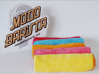 Trapo Multiuso Microfibra 30 X 30colores Limpieza Unidad
