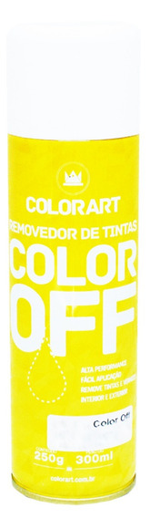 2 Removedor De Tinta E Verniz Color Off Colorart 300ml
