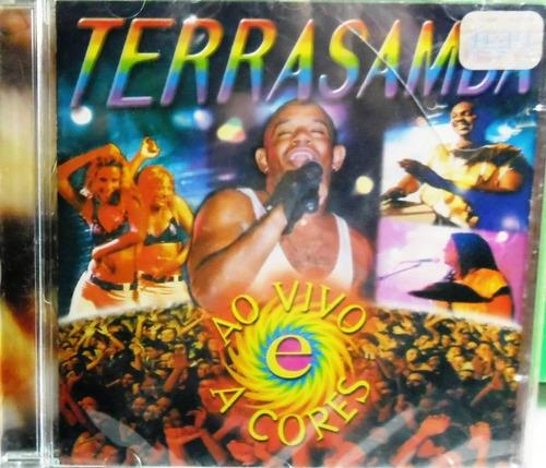 Imagem 1 de 6 de Cd Terrasamba - Ao Vivo A Cores
