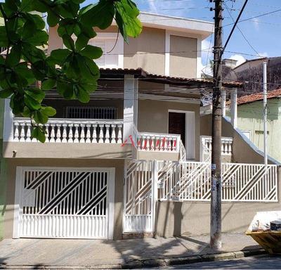 Sobrado Com 2 Dormitórios À Venda, 136 M² Por R$ 423.000 - Vila Cláudio - Santo André/sp - So0987