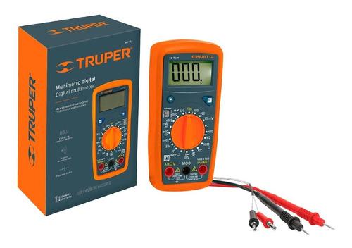 Multimetro Multitester Digital Truper Mut-33 + Delivery