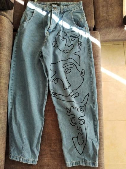 Pantalones Pintados A Mano Mercadolibre Com Ar