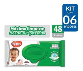 Kit De Toalhas Umedecida Turma Da Mônica - 288 Toalhas