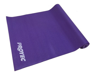 Colchoneta Yoga Mat Pilates 6 Mm Matt Pvc Pilates Aislamiento Termico Gimnasia