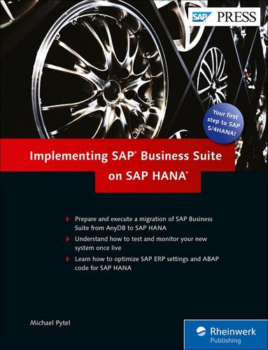 Libro Implementing Sap Business Suite On Sap Hana