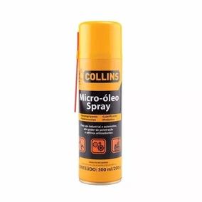 Micro Óleo Collins Lubrificante, Antioxidante Desengripante