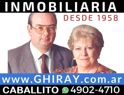 4 Amb. Velez Sarf, Av. Juan B. Justo 7800. Lateral Muy Lumin