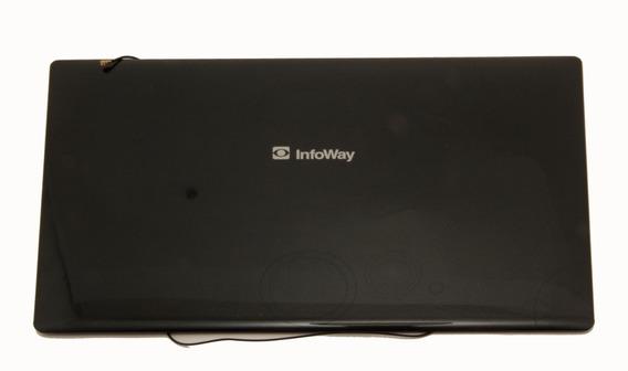 Itautec W7020 Notebook Tampa Lcd Antenas Wi Fi