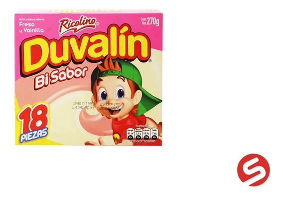 Duvalin Fresa/vainilla 18pzs