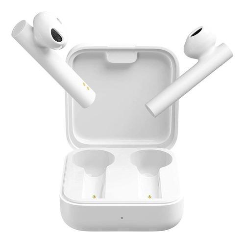 Imagen 1 de 5 de Audífonos in-ear inalámbricos Xiaomi Mi Earphones 2 Basic blanco
