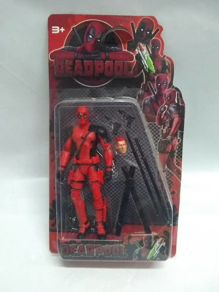 Muñeco Deadpool Juguete Fox Articulable Niños Avengers