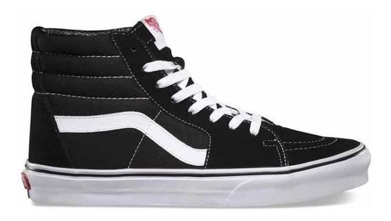 Vans Sk8 Black/white En Todos Los Números