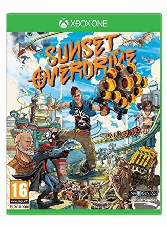 Sunset Overdrive - Mídia Física - Xbox One - Dublado