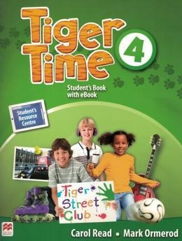 Tiger Time Student's Book With  Pack-4
