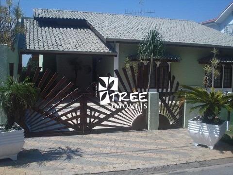 Casa No Condomínio Fechado Country Club, Excelente Imóvel Com A/t 375m² E A/u 296m² - Ca00649 - 1880948