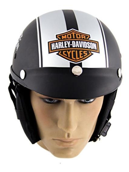 Capacete Custom Classic Harley Davidson Ccc012