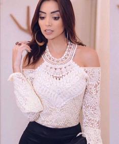 6533f37ed1e Mira Luxo Modas - Camisetas e Blusas Body Branco com o Melhores ...