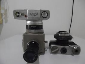 Câmera Olympus, Modelo Pm-10a, Para Microscópio, P/restauro