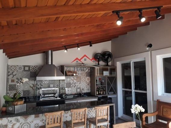 Estuda Permuta|lindíssima Casa No Condomínio Bella Colonia 2 Em Jundiaí Sp. - Ca00092 - 31983510