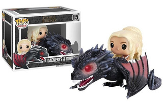 Funko Pop Game Of Thrones Daenerys & Drogon #15 - Loose