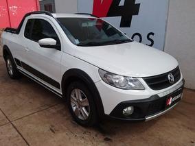 Volkswagen Saveiro Cross 1.6 Ce G5 2013 Branca Flex