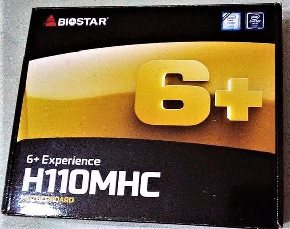 Placa Mãe Biostar H110mhc 6+ Nova, Na Caixa.