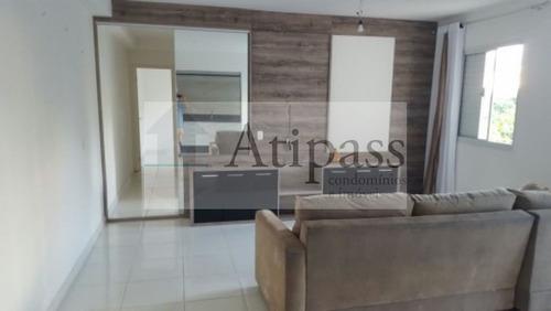 Apartamento 72m² , Centro, São Bernardo, 2 Quartos (1 Suíte), Lazer Completo - At67